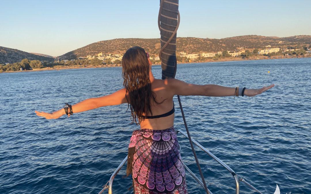 Win a week at sea on a sailboat